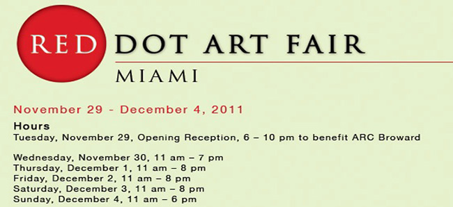 RED DOT ART FAIR  | SCULPT MIAMI 2011